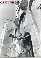 LE MIME MARCEAU PHOTOGRAPHIE ANCIENNE SPECTACLE CIRQUE ACTEUR CIRCUS THEATRE AVIGNON - Personalidades Famosas