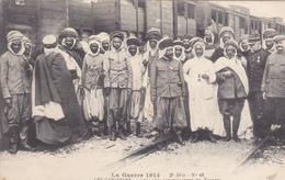 31. TOULOUSE. GUERRE 14- 18. CPA. LES GOUMIERS. LES CAIDS ACCOMPAGNANT LES TROUPES. PHOTO PROVOST TOULOUSE - France