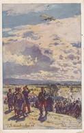 AK Beschießung Einer Deutschen Taube - V. Eckenbrecher - 1915 (34018) - Guerra 1914-18