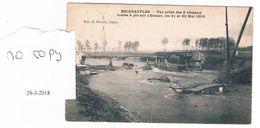 Escanafflles 2 Bateaux Coulés Sur L'escaut 1906 Tres Rare - Celles