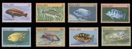 Malawi Scott #427-434, Set Of 8 (1984) Aquarium Species, Mint Never Hinged - Malawi (1964-...)