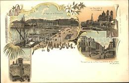 11743188 Marseille Bouches-du-Rhone Quai De La Fraternite Tourette Cathedrale Ru - Marseilles