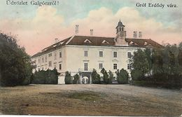 1907 - HLOHOVEC, GALGOL,  Gute Zustand, 2 Scan - Slovacchia