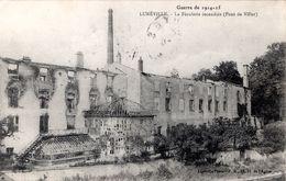 FR-54: Guerre De 1914-15: LUNEVILLE: La Féculerie Incendiée (Pont De Viller) - Guerre 1914-18