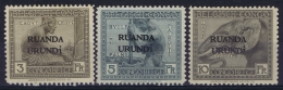 Ruanda-Urundi : OBP 59 - 61  Postfrisch/neuf Sans Charniere /MNH/** - 1916-22: Neufs