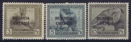 Ruanda-Urundi : OBP 59 - 61  Postfrisch/neuf Sans Charniere /MNH/** - Ruanda-Urundi