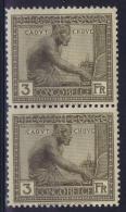 Belgian Congo: OBP 115 Pair Postfrisch/neuf Sans Charniere /MNH/**  1923 - 1894-1923 Mols: Neufs
