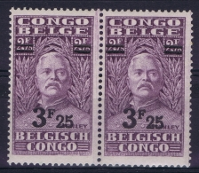 Belgian Congo: OBP 167 Pair Postfrisch/neuf Sans Charniere /MNH/**  1931 - 1923-44: Neufs