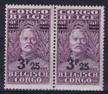 Belgian Congo: OBP 167 Pair Postfrisch/neuf Sans Charniere /MNH/**  1931 - Congo Belge