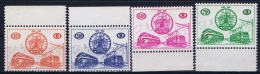 Belgium :  OBP TR 369 - 372 Postfrisch/neuf Sans Charniere /MNH/**  1960 - Railway