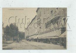 """Privas (07) : GP Du Magasin """"Les Nouvelles Galeries"""" Sur L'esplanade En 1910 (animé) PF. - Privas"""