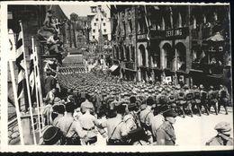 30726751 Nuernberg Nuernberg [Stempelabschlag] Soldaten Aufmarsch * Nuernberg - Nürnberg