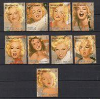 MONTSERRAT  Timbresneufs ** De 1995  ( Ref  5250 ) Cinéma -Marilyn Monroe - Montserrat