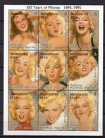 MONTSERRAT  Timbresneufs ** De 1995  ( Ref  5251 ) Cinéma -Marilyn Monroe - Montserrat
