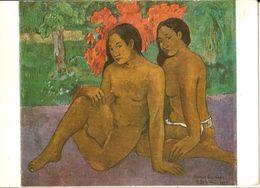 Musée Du Louvre-paul Gauguin-femmes De Tahiti-l'appel-3 Cartes-cpsm - Océanie