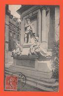 ET/171  PARIS. Monument De L'Amiral Coligny.a L Oratoire C . L .C   / écrite Timbre Cachet De La Poste 1907 - Statue