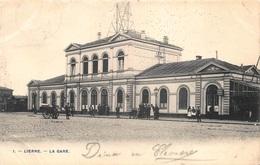 Lier  Lierre  Station  La Gare  Statie  Klein Scheurtje Bovenaan 1 Cm     X 3792 - Lier