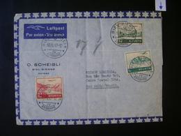 SWITZERLAND - LETTER SENT FROM BIEL - BIENNE TO BRAZIL IN THE STATE - Switzerland