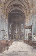 AK Zele - Binnenbeuk Der Kerk - Feldpost 1. Ldstm. Inf. Ers. Batl. Gent - 1915 (34023) - Zele