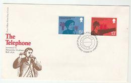1976 GB FDC Stamps POLICE TELEPHONE Cover Telecom - Police - Gendarmerie