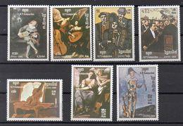 KAMPUCHEA Timbres Neufs ** De  1985 ( Ref  5258 ) Musique - Musiciens - Kampuchea