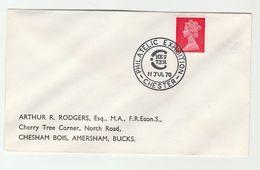 1970  CHESTER PHILATELIC EXHIBITION EVENT COVER Stamps Gb - Esposizioni Filateliche