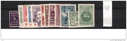 1948 MNH Finland, Finnland, Year Complete According To Michel, Postfris - Finland