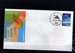 XX2-AUSTRALIA 2000- OLYMPIC GAMES SYDNEY 2000 -25 X COVER POST OFFICE POSTES AUSTRALIEN - Summer 2000: Sydney