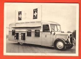 GBV-39 Bureau De Poste Suisse Automobile Sur Chassis Saurer. Circulé En 1937. Grand Format - Post & Briefboten
