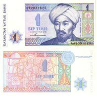 Kazakistán - Kazakhstan 1 Tenge 1993 Pick 7.a UNC - Kazakhstán