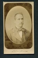Fotografia De Homem Não Identificado. Fotografo: SILVA PEREIRA Porto. 1880s Old CDV PHOTO - Portugal - Photos