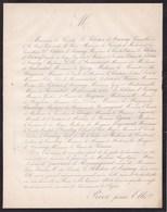 PARIS Marie Adelaïde GUERRIER De ROMAGNAT Veuve Comte LE PELETIER D'AUNAY 83 Ans 1864 SEGUIER ANJORRANT TANLAY - Esquela