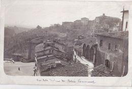 Carte Photo Originale  : Sienne   Siena (Italie)  Vue Prise De La Tribune Du Palais Communal - Luoghi