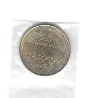 * Médaille Touristique,Monnaie  De  Paris  2014, Salin  D' Aigues - Mortes, CAMARGUE  ( 30 ) - Monnaie De Paris