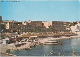 MALTA, St. Julian's Bay, Unused Postcard [21064] - Malta