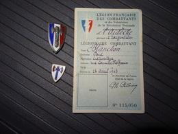 Lot Régime De Vichy, Etat Français - 1939-45