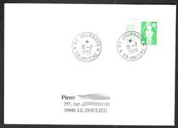 FRANCE '59 ANICHE PP JOURNAUX'  1996  1 OBLITERATION - Marcophilie (Lettres)
