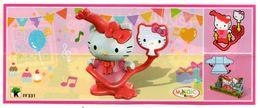 BPZ141 France : Ref : FF331 Série Hello Kitty / Kitty à La Fête - Handleidingen