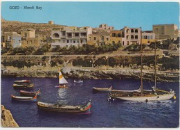 GOZO, Xlendi Bay, MALTA, Unused Postcard [21065] - Malta