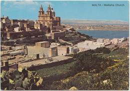MALTA, Mellieha Church, Unused Postcard [21066] - Malta
