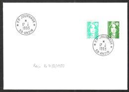 FRANCE '59 ANZIN PP JOURNAUX'  1993  1  OBLITERATION - Marcophilie (Lettres)