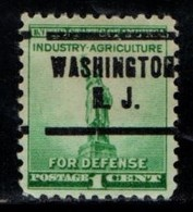 "USA Precancel Vorausentwertung Preo, Locals ""WASHINGTON"" (NJ). - United States"