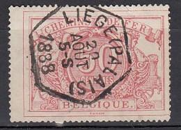 BELGIEN Eisenbahnpaket 1882 - MiNr: 11  Used - Bahnwesen