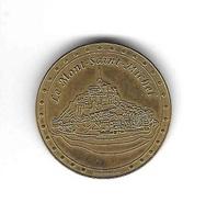 Médaille  Touristique, Le  Mont  Saint  Michel  Recto  Verso - Tourist