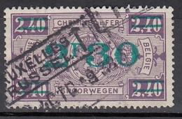 BELGIEN Eisenbahnpaket 1924 - MiNr: 156 Used - Bahnwesen