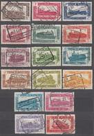 BELGIEN Eisenbahnpaket 1949 -  MiNr: 278-294  16x Used - Bahnwesen
