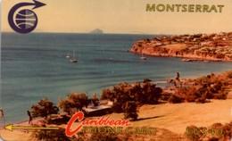 *MONTSERRAT - 9CMTC* -  Scheda Usata - Montserrat