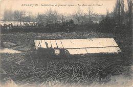 Besançon Inondations Bois - Besancon