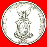 √ USA ADMINISTRATION* PHILIPPINES ★ 5 CENTAVOS 1937! LOW START ★ NO RESERVE! - Philippinen