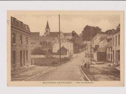 MONTIGNY LE TILLEUL RUE DE BOMEREE - Montigny-le-Tilleul